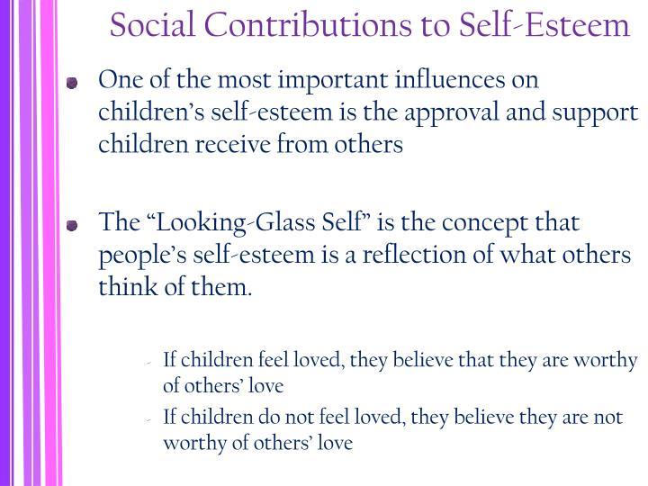 Social Contributions to Self-Esteem