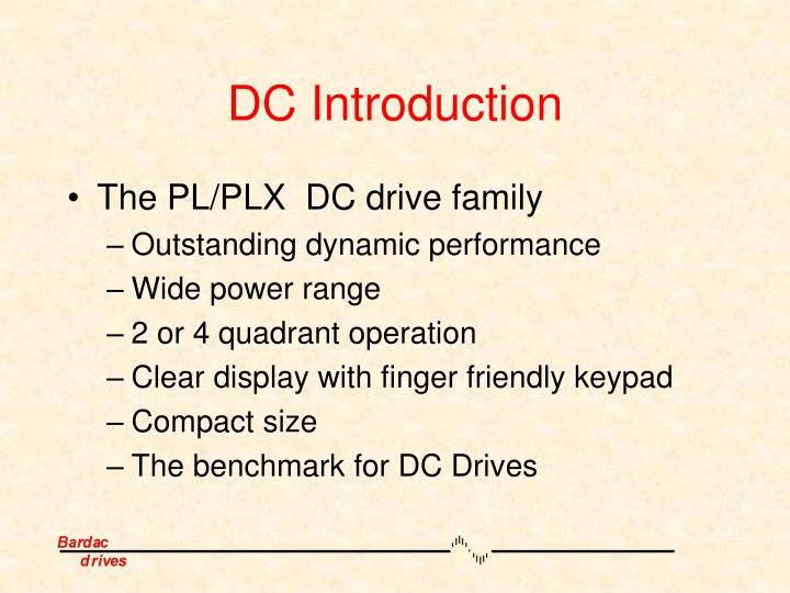 DC Introduction