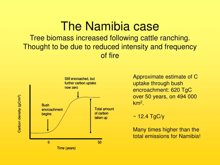 The Namibia case