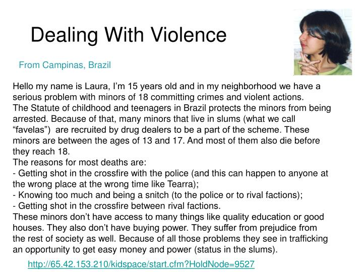 Dealing With Violence
