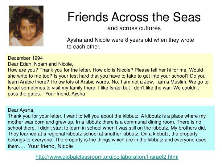 Friends Across the Seas