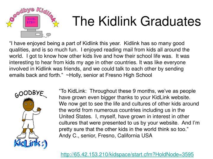 The Kidlink Graduates