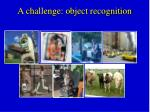 a challenge object recognition