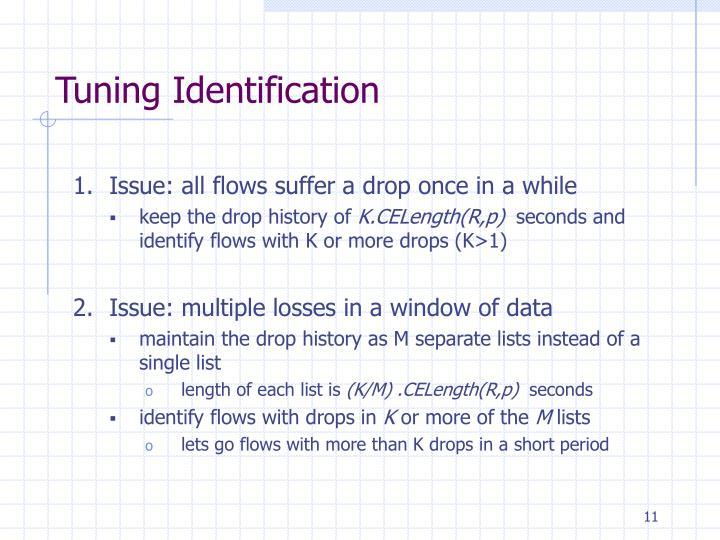 Tuning Identification