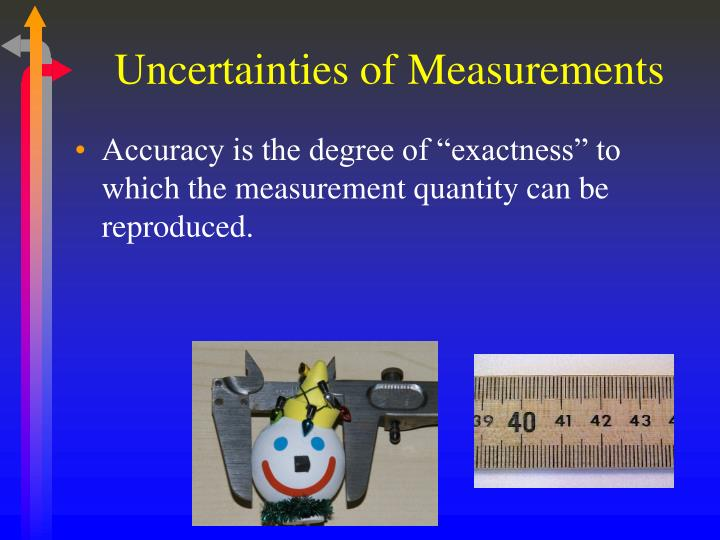 Uncertainties of Measurements