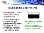 1 2 designing experiments