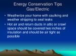 energy conservation tips gas electric1