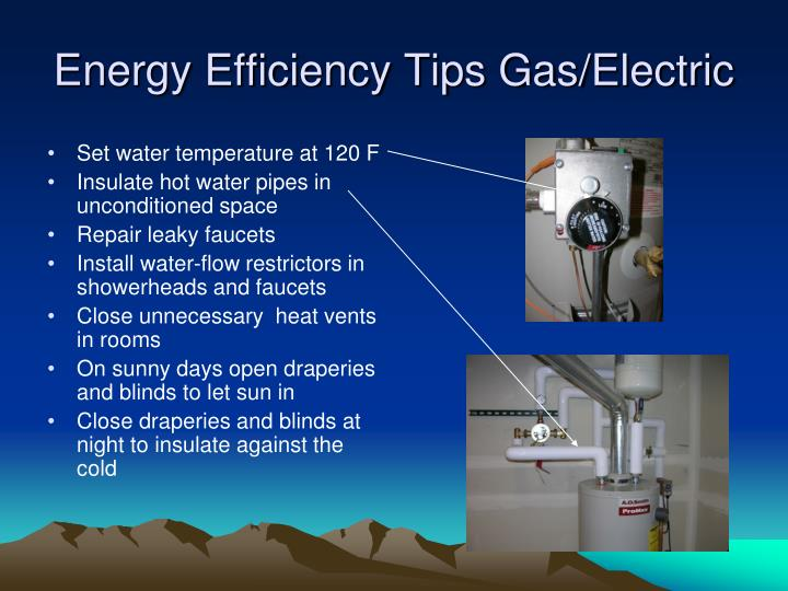 Energy Efficiency Tips Gas/Electric