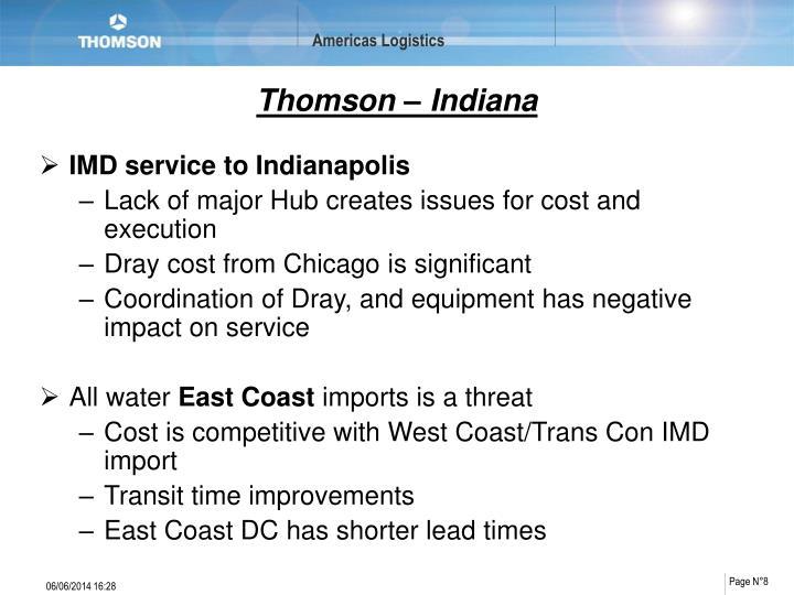 Thomson – Indiana