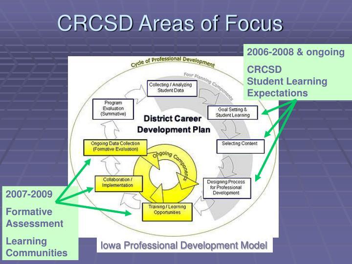 CRCSD Areas of Focus