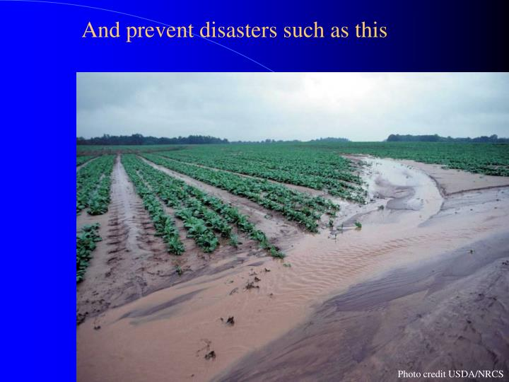 And prevent disasters such as this