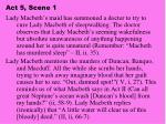 act 5 scene 1