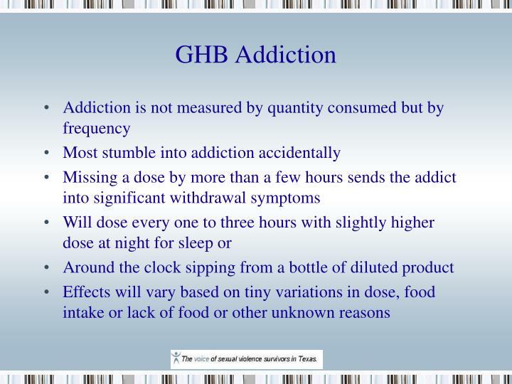 GHB Addiction
