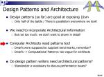 design patterns and architecture1