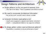 design patterns and architecture2