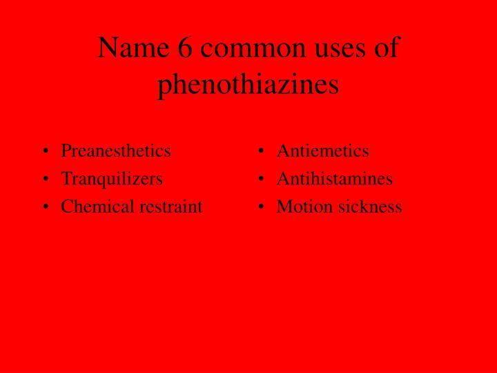 Preanesthetics