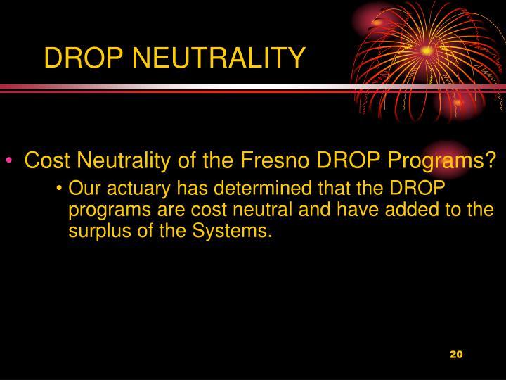 DROP NEUTRALITY