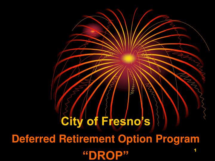City of Fresno's