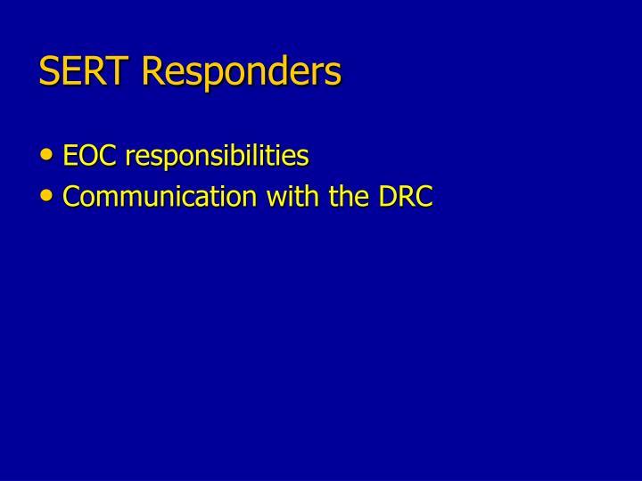 SERT Responders