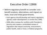 executive order 12866