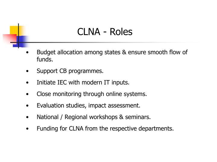 CLNA - Roles