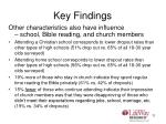 key findings5