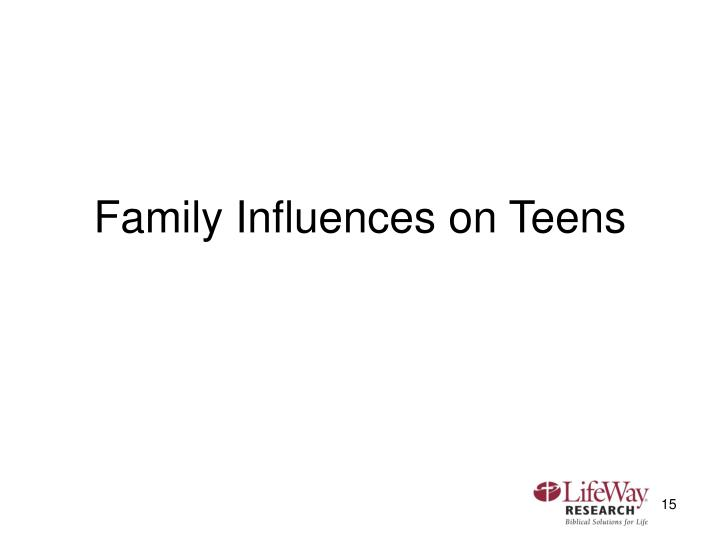 Family Influences on Teens