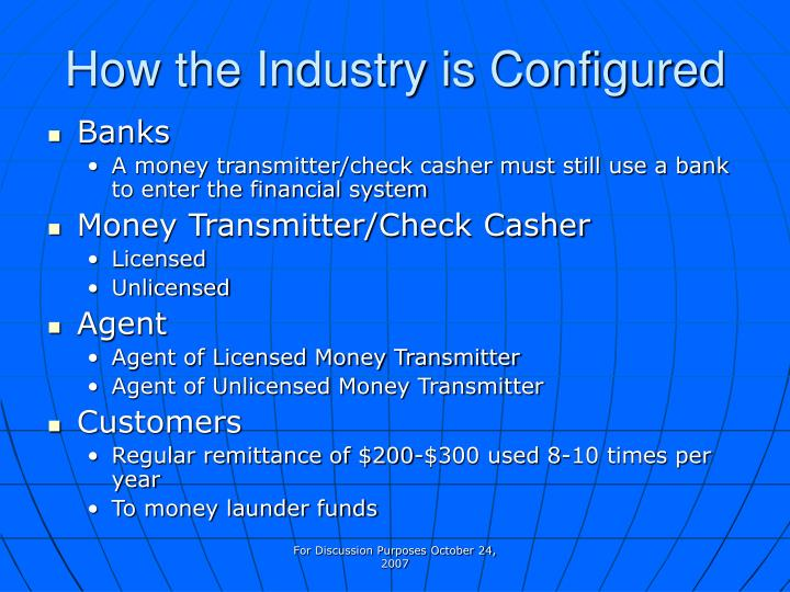 How the Industry is Configured