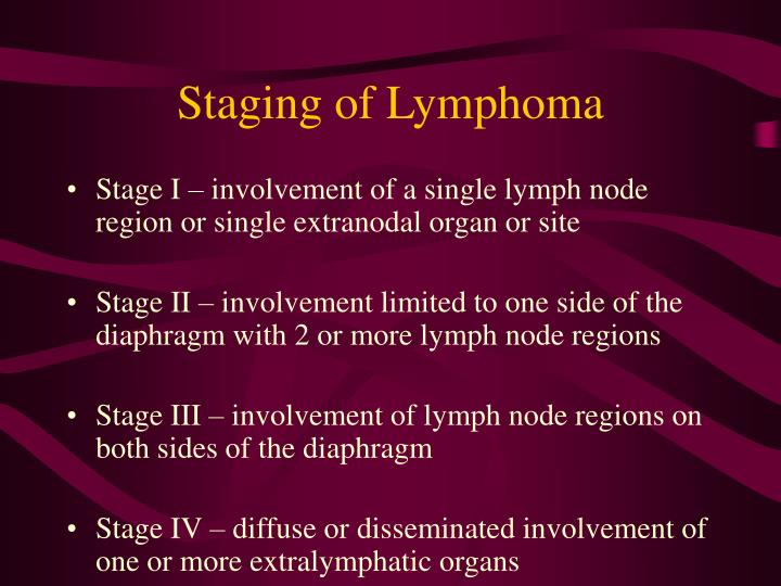 Staging of Lymphoma