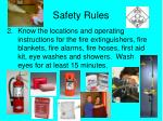 safety rules1
