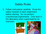 safety rules4