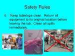 safety rules5
