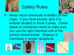 safety rules7
