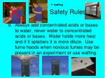 safety rules8
