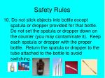 safety rules9