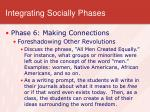 integrating socially phases5