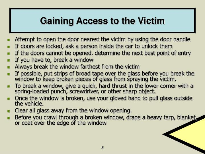 Gaining Access to the Victim