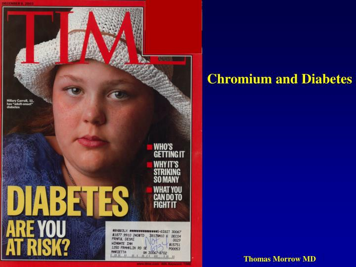 Chromium and Diabetes