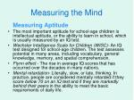 measuring the mind1