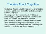 theories about cognition1