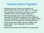 theories about cognition5