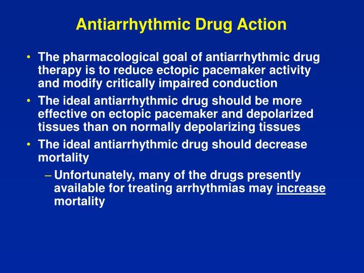 Antiarrhythmic Drug Action