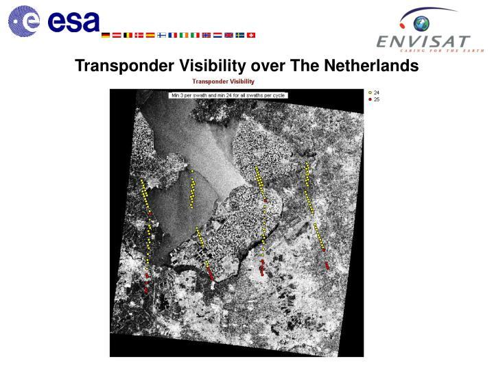 Transponder Visibility over The Netherlands