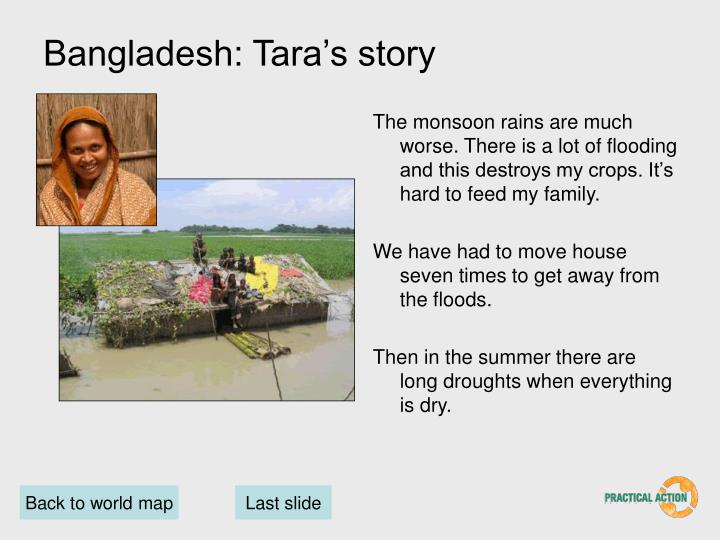 Bangladesh: Tara's story