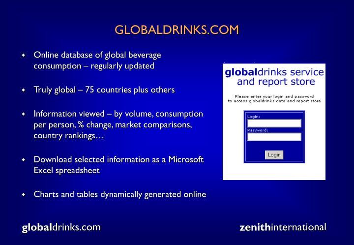 GLOBALDRINKS.COM