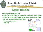 escape planning