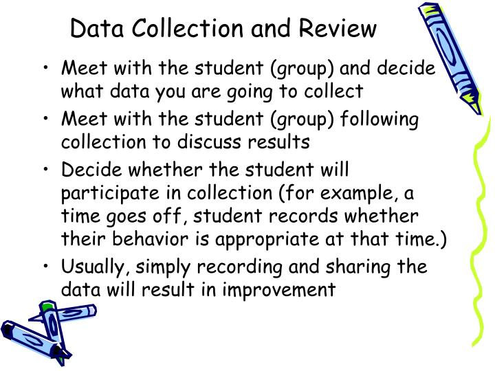 Data Collection and Review