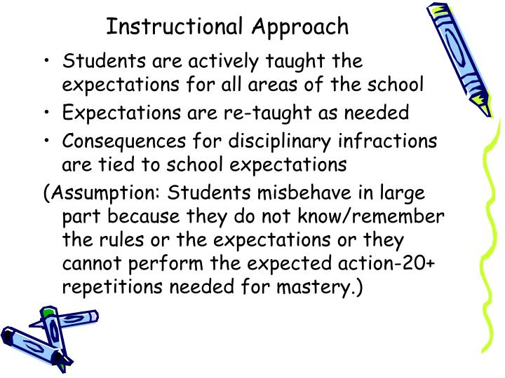 Instructional Approach