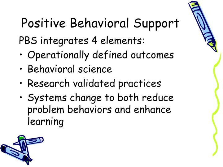 Positive Behavioral Support