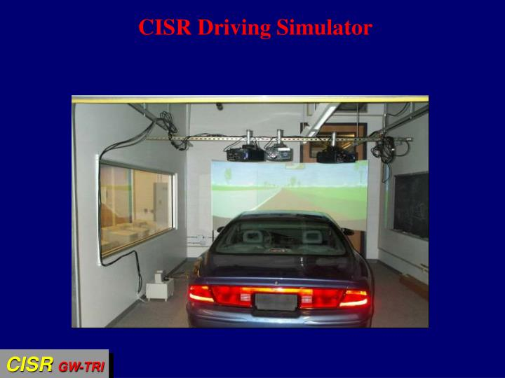 CISR Driving Simulator